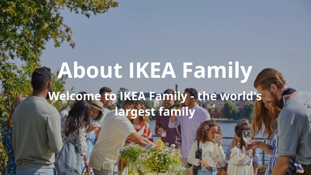 IKEA Family - About Us