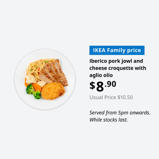 IKEA Family - Restaurant Offer